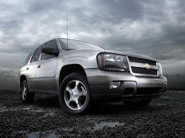Фотографии Chevrolet Trailblazer.