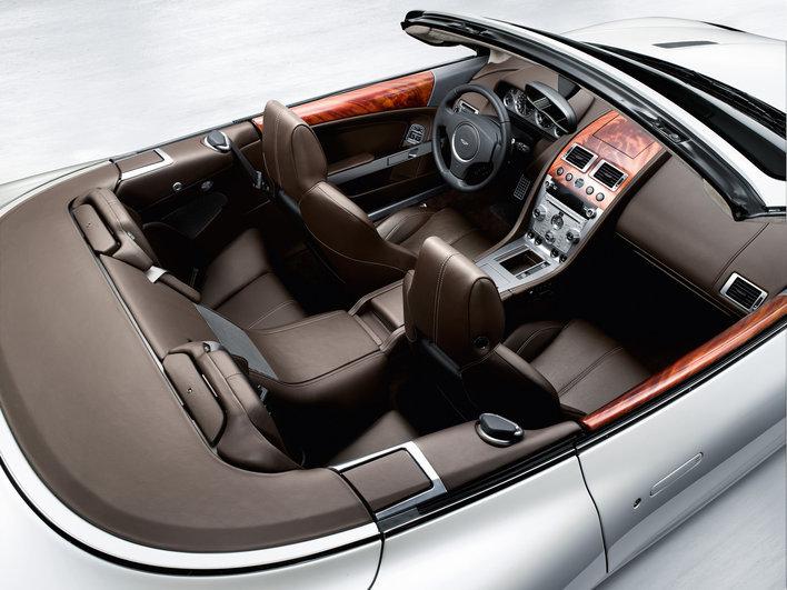 Фото Aston Martin DB9 Volante кабриолет, модельный ряд 2008г