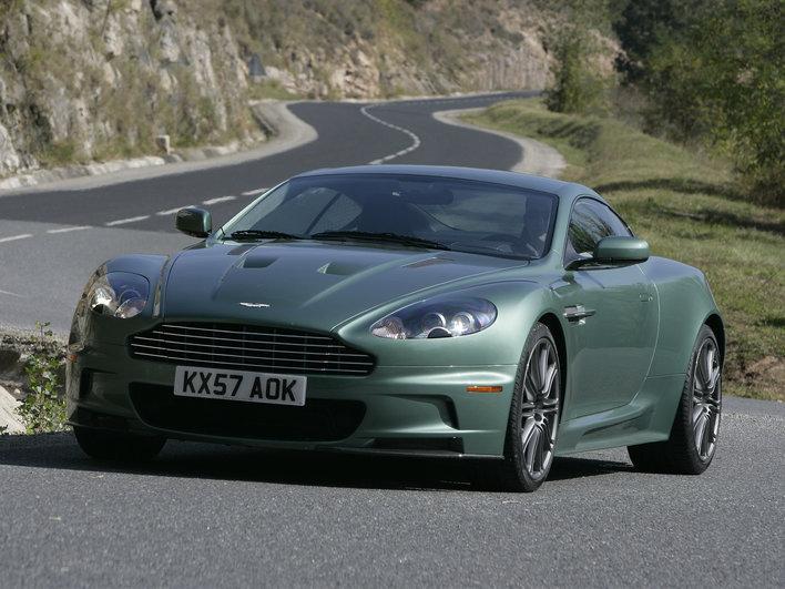 Фото Aston Martin DBS купе, модельный ряд 2008г