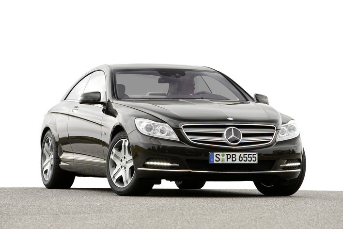 Фото Mercedes-Benz CL купе, модельный ряд 2010г