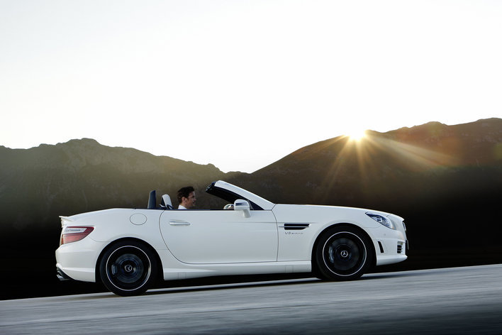 Фото Mercedes-Benz SLK 55 AMG родстер, модельный ряд 2011г