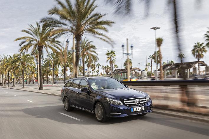 Фото Mercedes-Benz E-Class универсал, модельный ряд 2013г