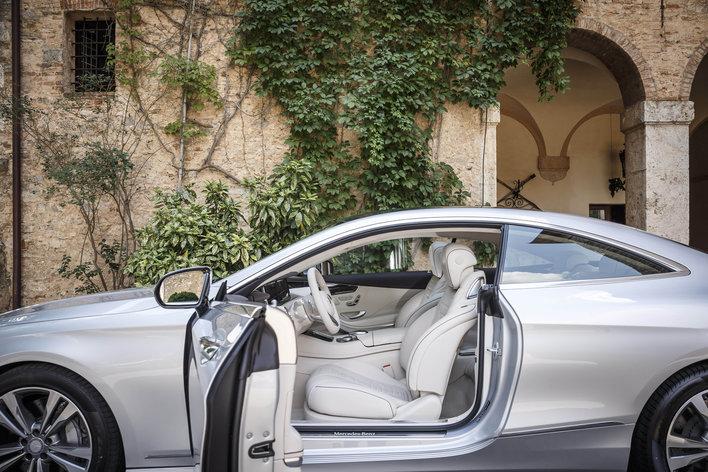 Фото Mercedes-Benz S-Class купе, модельный ряд 2014г