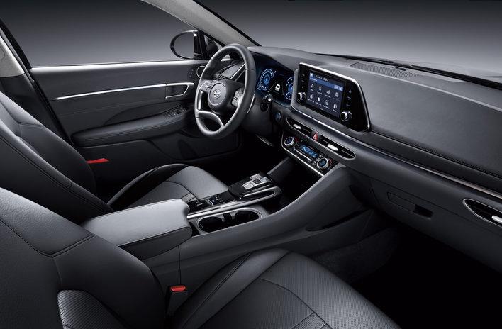 Фото Hyundai Sonata седан, модельный ряд 2019г