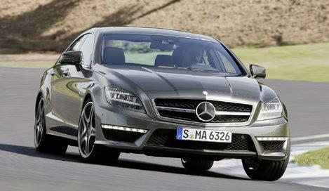 Фото Mercedes-Benz CLS 63 AMG седан, модельный ряд 2011г
