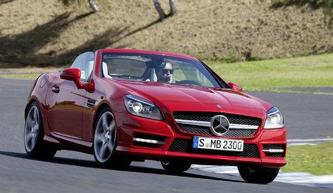 Фото Mercedes-Benz SLK родстер, модельный ряд 2011г