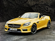 Описание Mercedes-Benz SLK 55 AMG родстер поколение 2011г