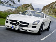 Описание Mercedes-Benz SLS AMG Roadster родстер поколение 2011г