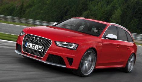 Фото Audi RS4 Avant универсал, модельный ряд 2012г