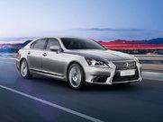 Описание Lexus LS седан поколение г