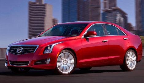 Фото Cadillac ATS седан, модельный ряд 2012г