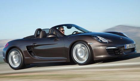 Фото Porsche Boxster родстер, модельный ряд 2012г