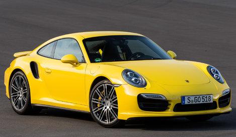 Фото Porsche 911 Turbo купе, модельный ряд 2013г