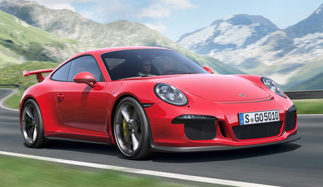Фото Porsche 911 GT3 купе, модельный ряд 2013г