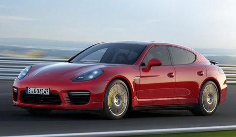 Фото Porsche Panamera GTS 5-дверный хэтчбек, модельный ряд 2013г