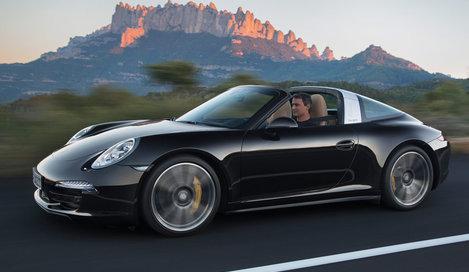 Фото Porsche 911 Targa S кабриолет, модельный ряд 2014г