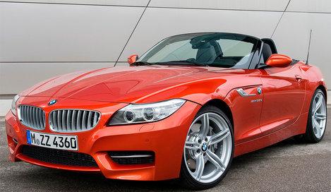 Фото BMW Z4 родстер, модельный ряд 2012г