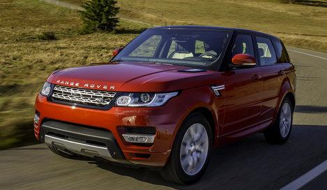 Фото Land Rover Range Rover Sport 5-дверный внедорожник, модельный ряд 2013г