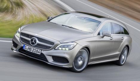 Фото Mercedes-Benz CLS Shooting Brake универсал, модельный ряд 2012г