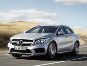 Описание Mercedes-Benz GLA AMG 5-дверный кроссовер поколение 2014г