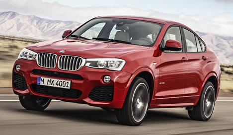 Фото BMW X4 5-дверный кроссовер, модельный ряд 2014г