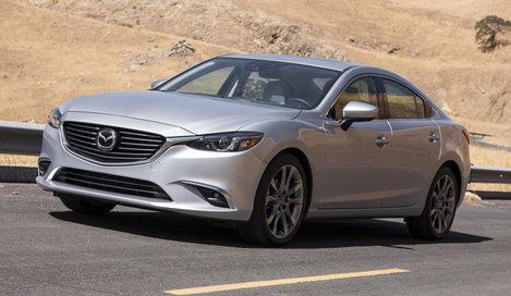 Фото Mazda 6 седан, модельный ряд 2015г