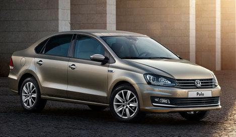 Фото Volkswagen Polo седан, модельный ряд 2015г
