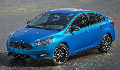 Фото Ford Focus седан, модельный ряд 2015г