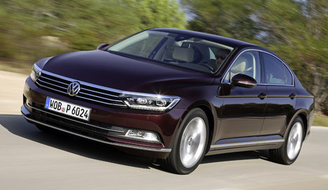 Фото Volkswagen Passat седан, модельный ряд 2015г