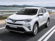 Описание Toyota RAV4 5-дверный кроссовер поколение 2018г