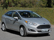 Ford Fiestaседан, поколение г.
