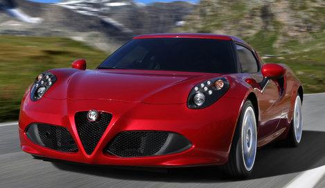 Фото Alfa Romeo 4C купе, модельный ряд 2013г