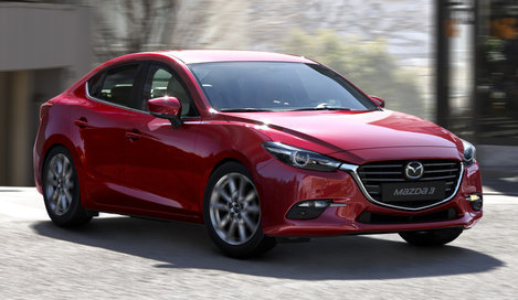 Фото Mazda 3 седан, модельный ряд 2016г