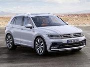 Описание Volkswagen Tiguan 5-дверный кроссовер поколение 2018г