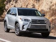 Описание Toyota Highlander 5-дверный кроссовер поколение 2017г