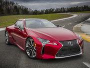 Описание Lexus LC купе поколение г