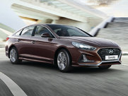 Описание Hyundai Sonata седан поколение г
