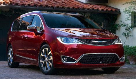 Фото Chrysler Pacifica минивэн, модельный ряд 2017г