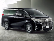 Описание Toyota Alphard минивэн поколение г