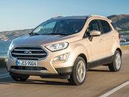 Описание Ford EcoSport 5-дверный кроссовер поколение 2015г