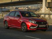 Описание Lada Vesta Sport седан поколение 2015г
