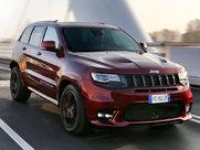 Описание Jeep Grand Cherokee SRT 5-дверный внедорожник поколение г