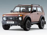 Описание Lada 4x4 Bronto 3-дверный внедорожник поколение г
