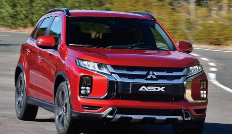Фото Mitsubishi ASX 5-дверный кроссовер, модельный ряд 2020г