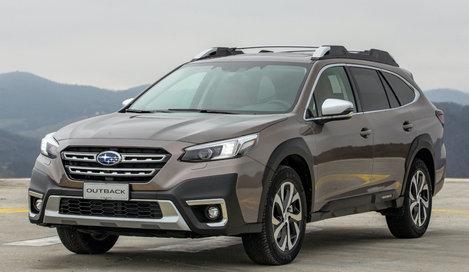 Фото Subaru Outback универсал, модельный ряд 2021г