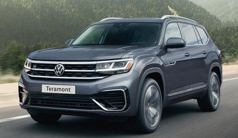 Фото Volkswagen Teramont 5-дверный внедорожник, модельный ряд 2021г