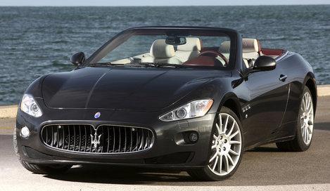 Фото Maserati GranCabrio кабриолет, модельный ряд 2009г