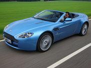 Описание Aston Martin Vantage V8 родстер поколение г