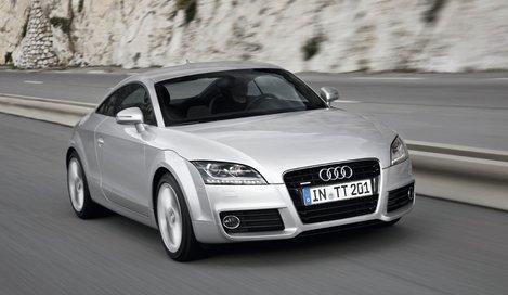 Фото Audi TT купе, модельный ряд 2010г
