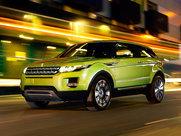 Описание Land Rover Range Rover Evoque Coupe 3-дверный кроссовер поколение г